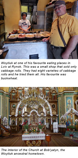 CAA Member, Elmer Woytiuk's Ukraine travel experience